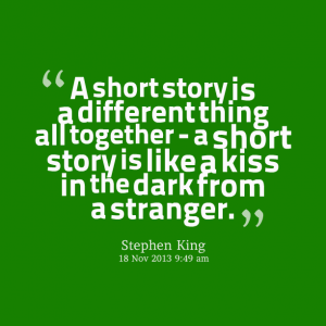 Short story Stephen King