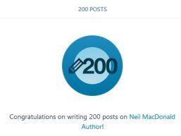 200 posts