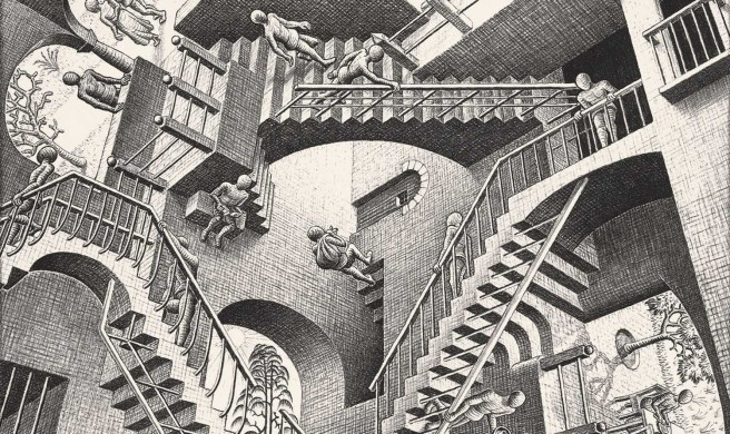 MC Escher stairs