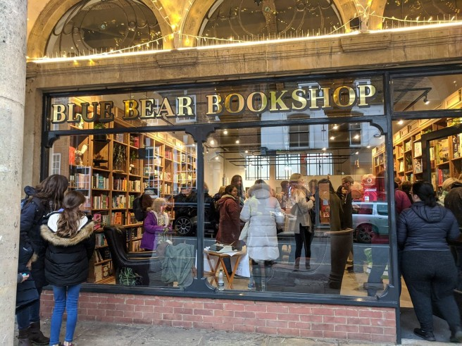 Blue Bear bookshop